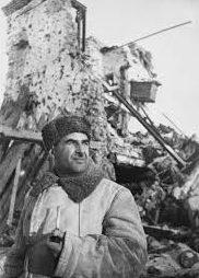 Людников в Сталинграде. 1942 г.