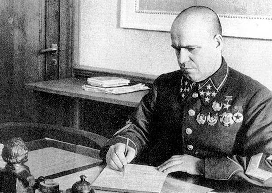 Начальник Генштаба Красной армии - Жуков. 1941 г.
