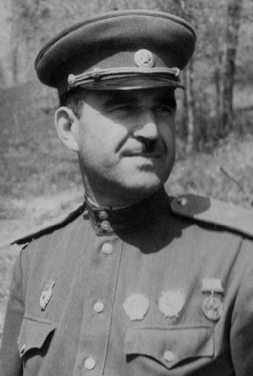 Генерал-майор Людников. 1943 г.