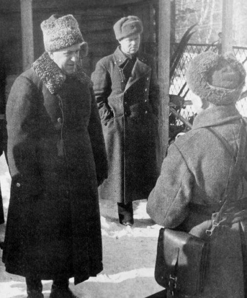 Жуков на Западном фронте. 1941 г.