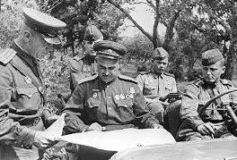 Людников на фронте. 1943 г.