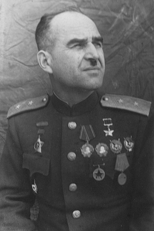 Генерал-лейтенант Людников. 1944 г.