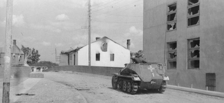 Оккупанты в Литве. 1 июля 1941 г.