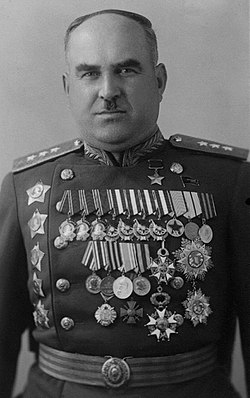 Генерал-полковник Людников. 1946 г.