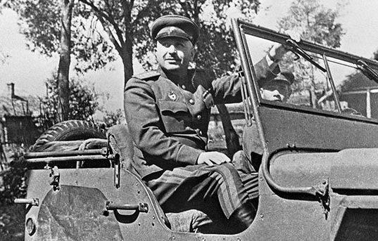 Генерал армии И.Х. Баграмян. 1944 г.