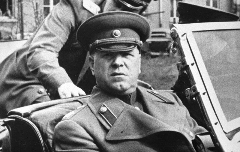 Маршал Советского Союза Георгий Жуков. Берлин, 10 мая 1945 г.