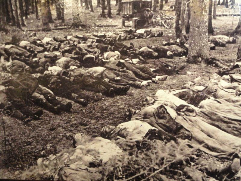 Массовые убийства в Понарах. 1941 г.