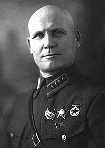 Комкор Конев. 1938 г.