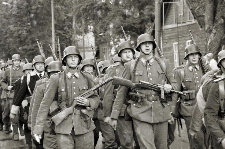 2-й литовский батальон шуцманшафта. Вильнюс, 1941 г.