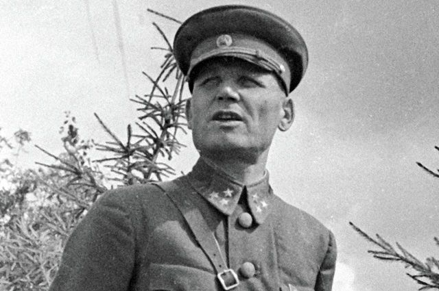Генерал-лейтенант Конев. 1941 г.
