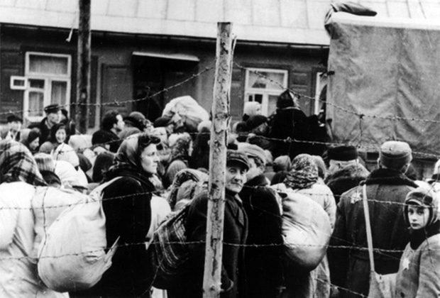 Концлагерь в Седьмом форте Каунаса. 1942 г.
