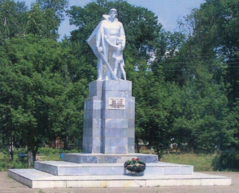 ст-ца. Михайловская Курганинского р-на. Памятник советским воинам.
