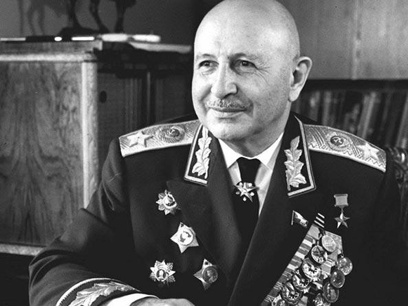 Маршал Баграмян. 1955 г.