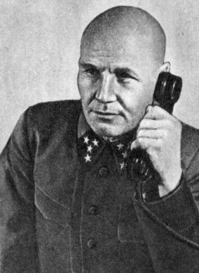 Командующий войсками Западного фронта Конев. Сентябрь 1941 г.