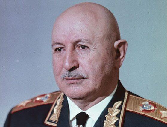 Маршал Баграмян. 1965 г.