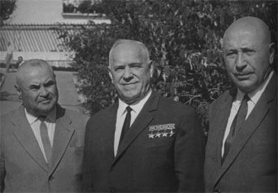 Н.Антипенко, Г.К. Жуков, И.Баграмян. 1967 г.
