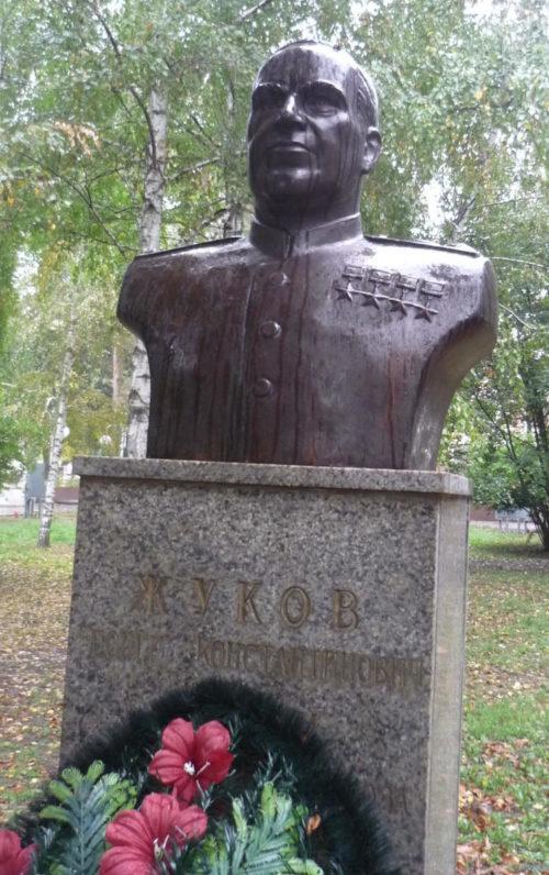 г. Славянск-на-Кубани. Бюст Г.К. Жукову.