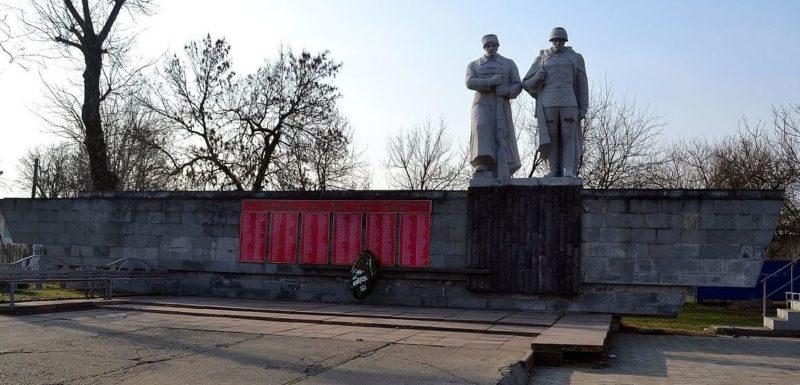 г. Краснодар, ст-ца. Елизаветинская. Памятник жителям станицы, погибшим в годы войны.