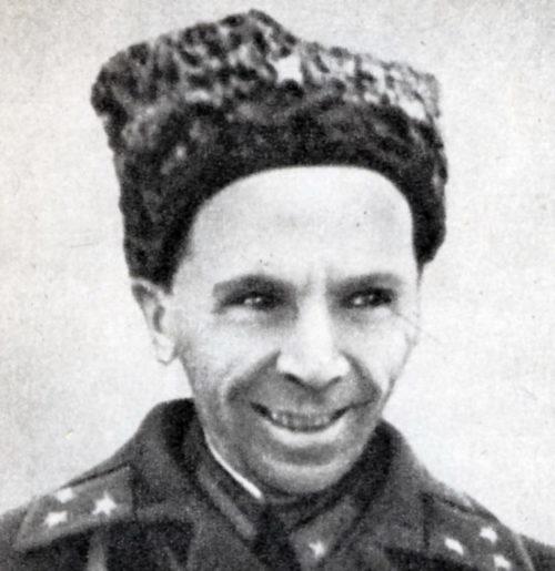 Комдив Батов. 1939 г.
