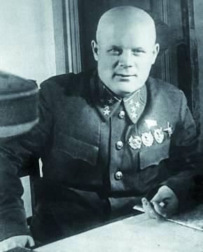 Голиков - начальник Разведуправления Красной Армии. 1940 г.