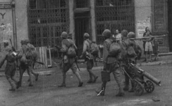 Уличные бои в Вильнюсе. Июль 1944 г.
