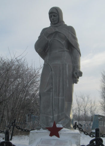 п. Кубанец Кущёвского р-на. Памятник Неизвестному Солдату.