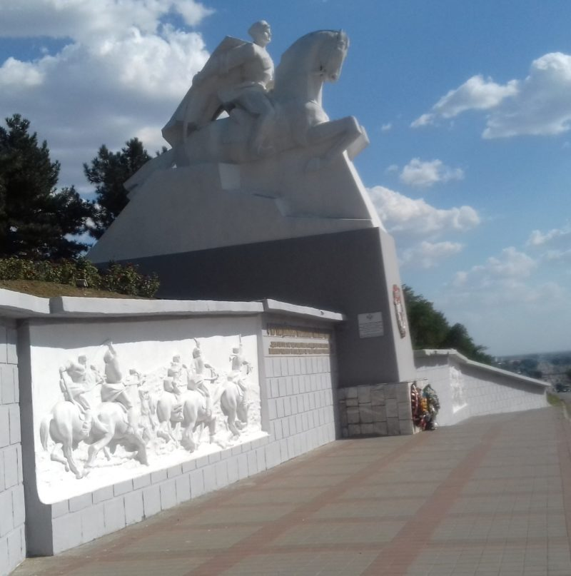 ст-ца. Кущевская. Мемориал гвардейцам Кубанского казачьего кавалерийского корпуса.