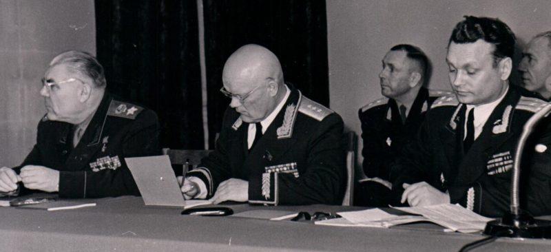 Конференция. 1957 г.