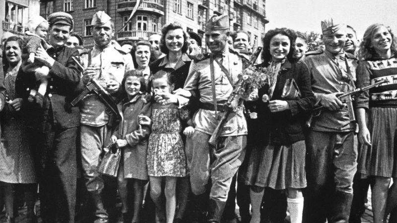Встреча освободителей. Июль 1944 г.