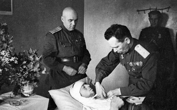 Батов в первые мирные дни. 1945 год.