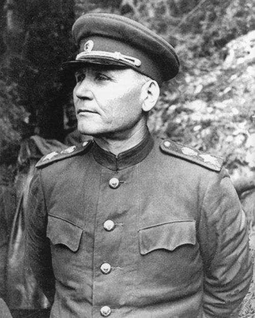 Маршал Конев. 1945 г.