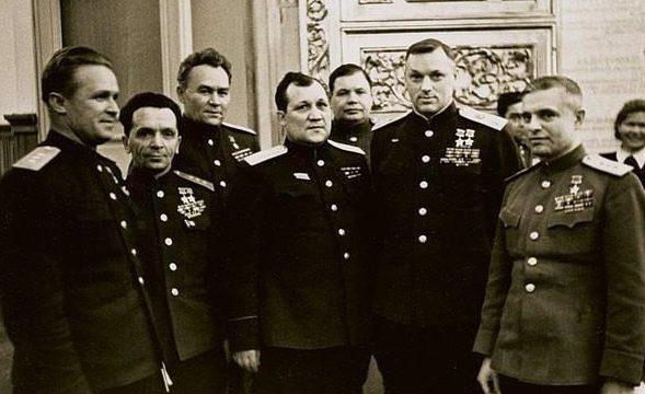 Батов среди генералов. 1955 г.