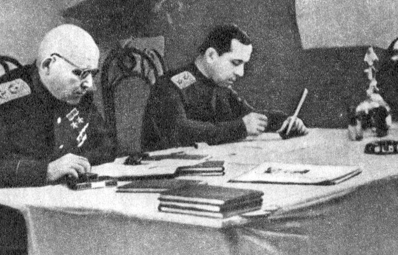 Конев – главнокомандующий Центральной группой войск и Верховный комиссар Австрии. 1946 г.