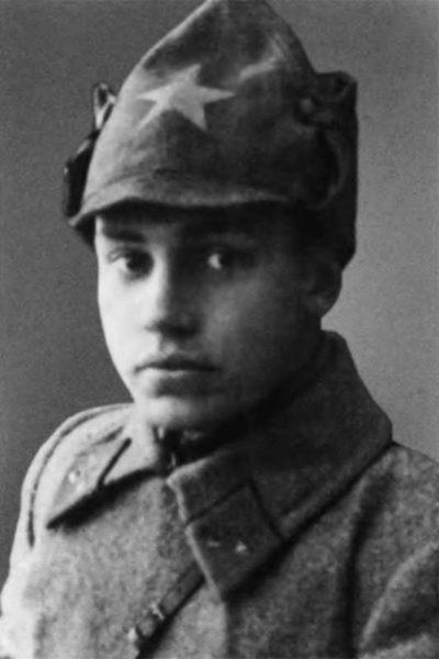 Краском Николай Берзарин. 1923 г.