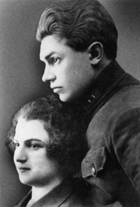 Николай и Наталья Берзарины. 1926 г.