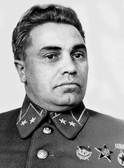 Генерал-майор Берзарин. 1940 г.
