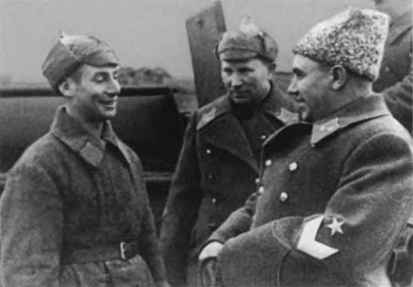 Командарм Берзарин на учениях. Дальний Восток, 1940 г.