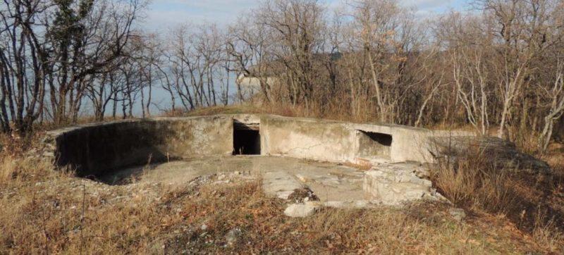 г. Геленджик мыс Голубой. Артиллерийская батарея № 714 береговой обороны Черноморского флота.