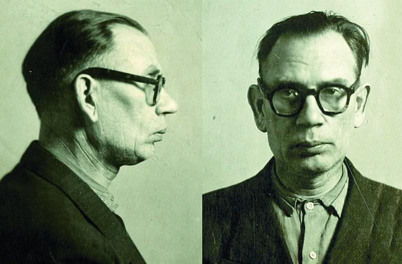 Власов в тюрьме. 1945 г.
