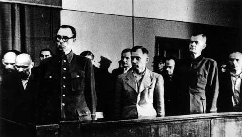 Суд над Власовым. 1946 г.