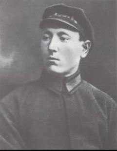 Курсант Бирюзов. 1923 г.