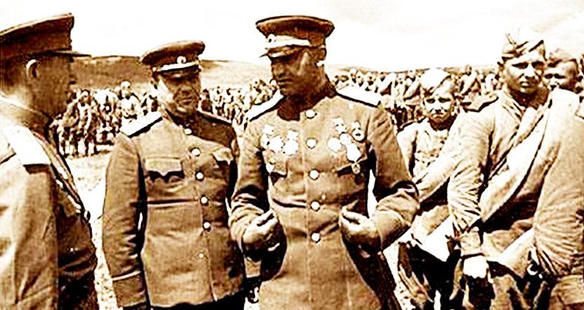 Яков Крейзер на фронте. 1943 г.