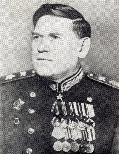 Маршал инженерных войск Воробьев. 1944 г.