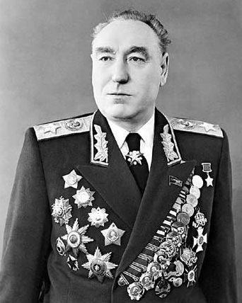 Маршал Бирюзов С.И. 1955 г.