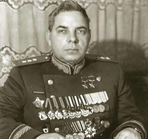 Генерал-полковник Крылов. 1945 г.