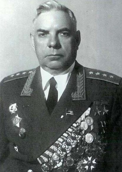 Генерал армии Крылов. 1953 г.