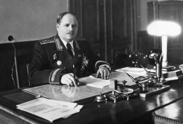 И. В. Болдин – заместитель командующего Киевским военным округом. 1955 г.