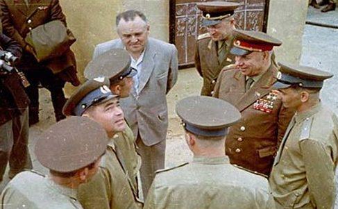 Крылов на Байконуре. 1963 г.