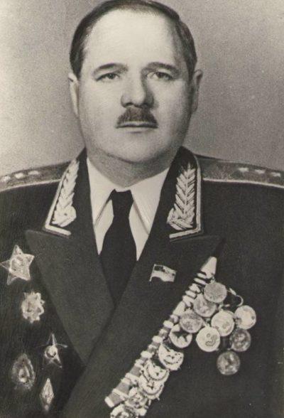 Генерал-полковник Болдин. 1960 г.