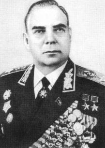 Маршал Советского Союза Крылов. 1970 г.